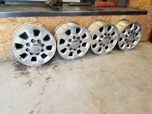 18 Gmc Sierra 2500 Hd Silverado Slt Denali Oem Factory Stock Wheels Rims 8x180