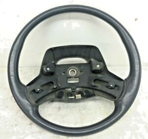 97 98 Jeep Wrangler Tj Steering Column Wheel Factory Free Shipping Gray 52078569