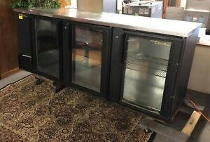 True Tbb 4g Refrigerated Cabinet Counter Stainless Top R134a 115v Black