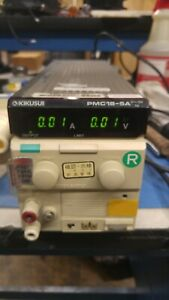 Kikusui Power Supply Pmc18 5a Great Condition