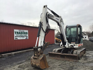 2006 Bobcat 337g Hydraulic Mini Excavator W Cab Thumb Only 2900 Hours