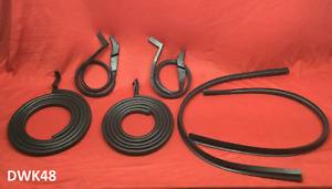 Premium 1948 1952 Ford Truck 6 Piece Door Weatherstrip Seal Set Left