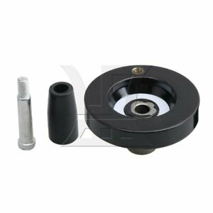 63x8mm Revolving Handle Hand Wheel With Revolving Handle Grip M5 Thread