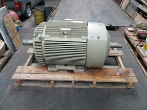 Ge 150 Hp Dual Shaft Extra Severe Duty Ac Electric Motor 445tz 1790 Rpm New