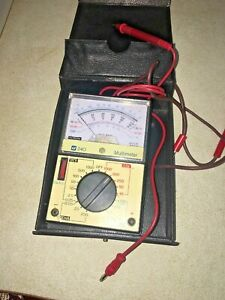 Tif Instruments Inc 240 Multimeter Dcma W case Vtg
