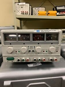 Gw Instek Gpc 3030 Dual Tracking Power Supply With 5v Fixed Good