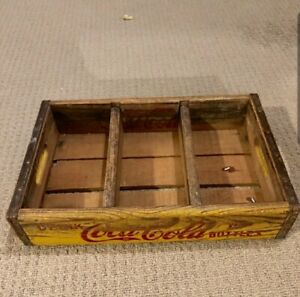 Vintage Coca Cola Wooden Crate - Great Patina!