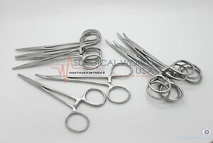 1 Halsted Mosquito Hemostat Locking Forceps 5 Straight Surgical Instruments