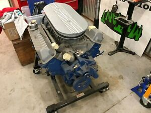 Ford Fe 427 Engine C3ae Ab Top Oiler Cross Driller Mains