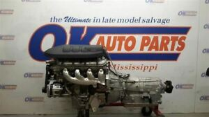 6 2 Ls3 Engine Pullout With 6l80 Auto Transmission 2014 Chevy Ss Drop Out