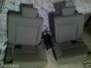 2010 Honda Element Rear Back Seats Topseed Color Auto Suv Car Chair Pair Truck
