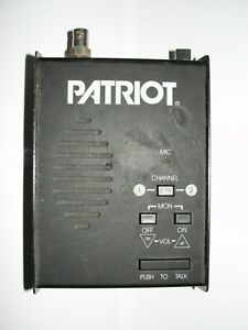 Ritron Patriot Pbs 150 Compact Small Professional 2 way Radio Base Station