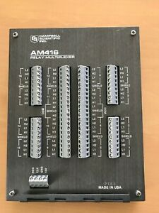 Campbell Scientific Inc Am416 Relay Multiplexer Excellent Condition