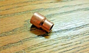 Copper Reducer 1 2 Coupling By 3 8 Coupling