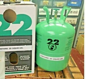 R22 Refrigerant 10lb Cylinder Virgin Pure made In Usa Free Shipping