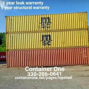 20 And 40 Steel Conex Storage Shipping Containers In Nashville Tn