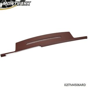 Fit For 88 94 Chevy Gmc Truck C1500 K1500 Molded Dashboard Cover Overlay Red