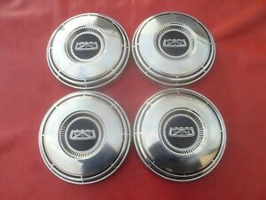 Vintage 1967 70 Ford Mustang Galaxie 427 Dog Dish Poverty Hubcaps Wheel Covers