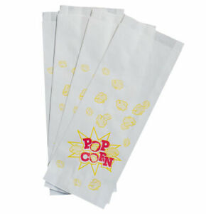 closeout Price Limited Quantity 1 000 2 Oz Large Popcorn Paper Bags