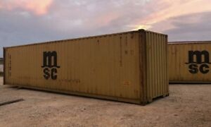 40 Standard Container Cargo grade Price Includes Delivery No Deposits