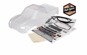 Traxxas 8111r Body Trx 4 Sport Clear Trimmed Requires Painting Window Masks