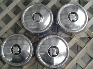 4 Vintage 1957 57 Dodge Lancer Knight Hubcaps Wheel Covers Center Caps Classic