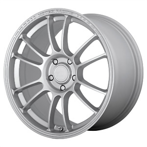 Motegi Mr146 Ss6 17x8 5 42 Hyper Silver 5x114 3 qty 4
