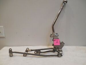 4 Speed Muncie Itm Shifter Linkage 67 Chevelle Oem Bucket Seat Console