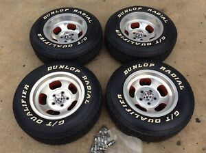 Mint 70 S Corvette Ansen Sprint 15x8 5 15x7 Aluminum Slotted Mag Wheels