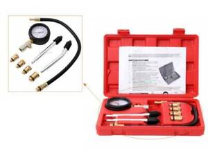 Ridgeyard Car Diesel Engine Cylinder Compression Pressure Tester Gauge Test Kit