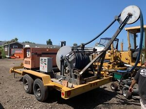 Water Well Test Pump Rig