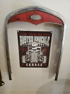 1931 Model A Ford Stainless Grill Shell Patina Rat Rod Restoration Hot Rod