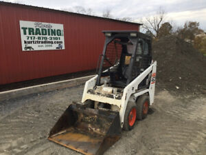 2008 Bobcat 463 Skid Steer Loader W Kubota Diesel Engine
