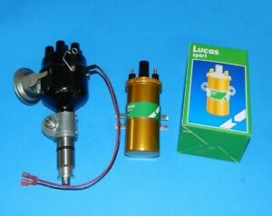 New Electronic Ignition Distributor Lucas Sport Coil Triumph Gt6 1966 73 Delco