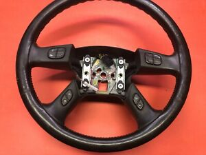 2003 2006 Chevrolet Silverado Tahoe Steering Wheel Leather Functions Used Oem