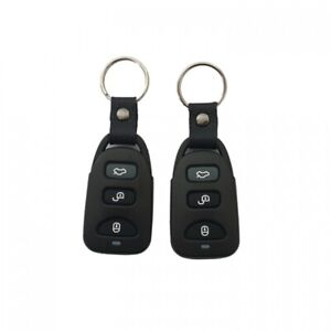 Remote Central Locking Upgrade Kit Universal Keyless Entry With 4 Button Remotes