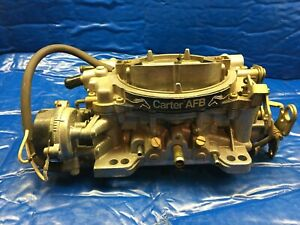 Carter Afb 2130 9635sa Carburetor 625 Cfm 2130 9635sa Excellent