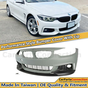 Performance Style Front Bumper Cover With Lip For Bmw 4 Series 14 20 F32 F33 F36