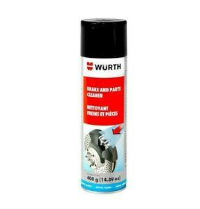 Wurth 890 9107 Brake Parts Cleaner 408g Chlorine Free Solvent Unspsc 47131821
