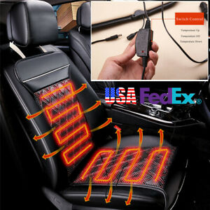 24w Heated Car Seat Heater Chair Cushion Warm Electric Heating Car Seats Cover