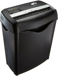 Amazonbasics 6 sheet Cross cut Paper And Credit Card Home Office Shredder Free S