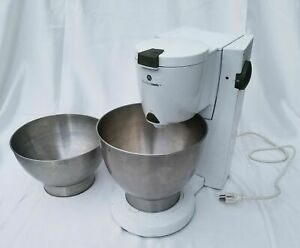 Black N Decker Kitchen Tools Heavy Duty Commercial Mixer With Two 2 Ss Bowls