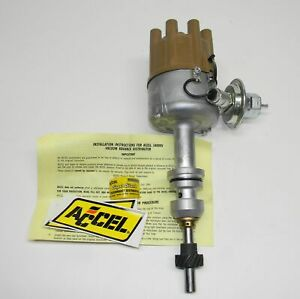 Accel Dual Point Distributor Mechanical Adv Ford 1969 1980 351w P n 34204v New