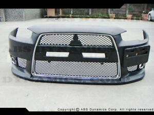 08 14 Mitsubishi Lancer Gts Gt Evo X Style Full Conversion Front Side Rear Spoil