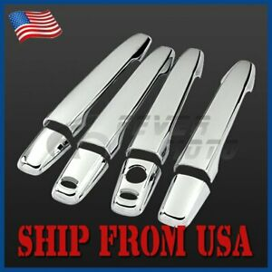 Us Fit 2008 2013 Mitsubishi Lancer Outlander Chrome Side Door Handle Covers Fm