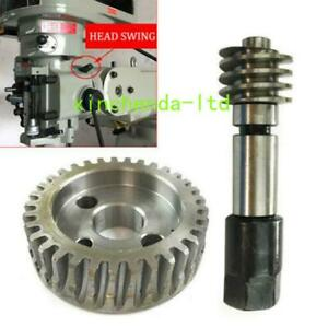 Milling Machine Cnc Vertical Worm Gear Head Adjusting Bolt Gear Bridgeport