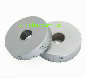 1pc 0 50mm Lathe Small Scale Metal Ring Dial Machine Part C6132 New Part