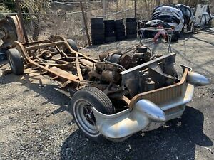 1956 Cadillac Eldorado Rolling Chassis W Driveline May Deliver Solid Seville