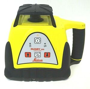 Leica Rugby 100 Self Leveling Rotating Laser Free Shipp