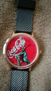 Coca cola watch  unique design  Brand new  works.
